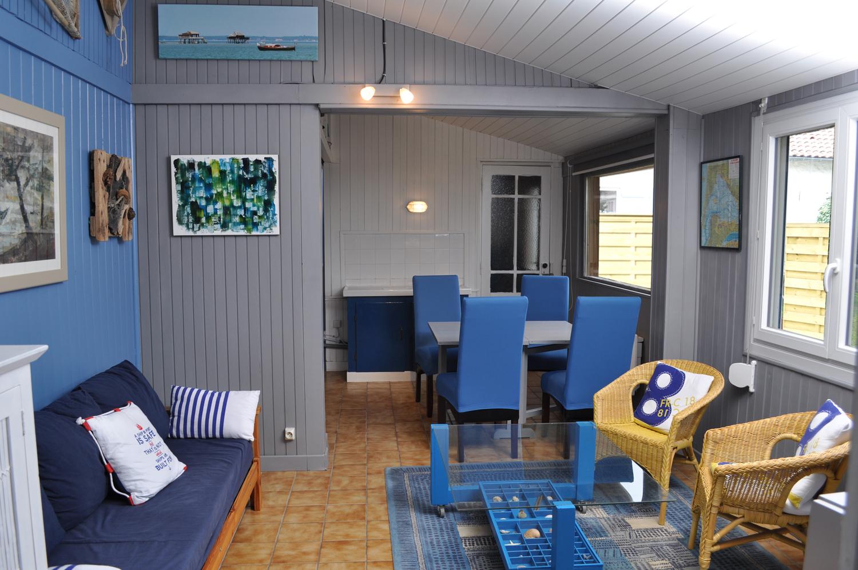 La Cabane de Lautrec, salon.